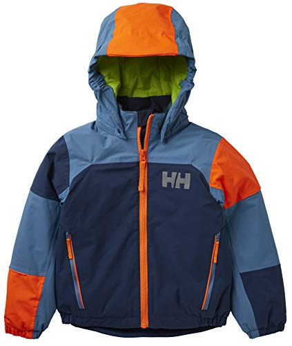 Helly Hansen Kinder K Rider 2 Isolierung Skijacke, North Sea Blue, 1 Yrs