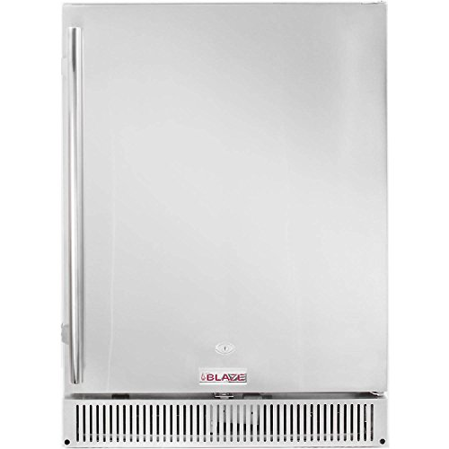 Blaze 24-Inch 5.2 Cu. Ft. Outdoor Rated Compact Refrigerator -...