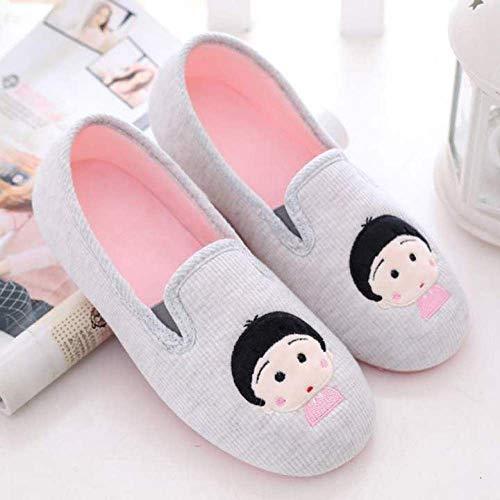 Ouderen gezwollen voeten diabetes,Zwangerschaps schoenen met zachte hakken, ademende antislip slofjes na bevalling-36_Small balls-grey,Plantar Fasciitis sneakers Air Shoe