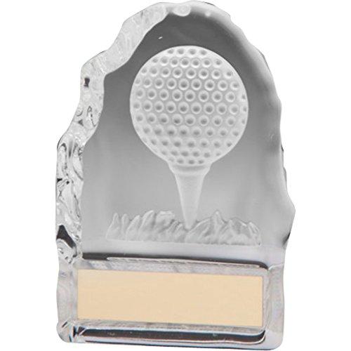LONGRIDGE Challenger Drive Trophy Golfpokal, transparent, 110mm