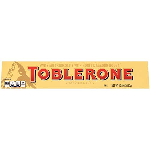 Toblerone barra grande de chocolate con leche, 12.6 onzas