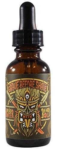 GRAVE BEFORE SHAVE HEAD HUNTER BEARD OIL 1