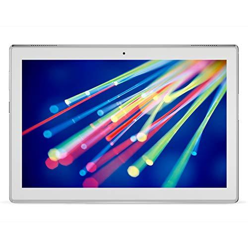 Lenovo Tab4 10 Tablet, Display 10.1  HD, Processore Qualcomm Snapdragon 425, 16 GB Espandibili fino a 128 GB, RAM 2 GB, WiFi+LTE, Android 7.1.1, Bianco