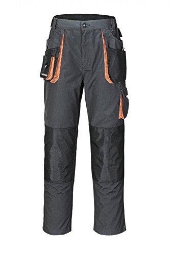 Terratrend Job Arbeitshose - Bundhose in Dunkel Grau,Schwarz,Orange, 50
