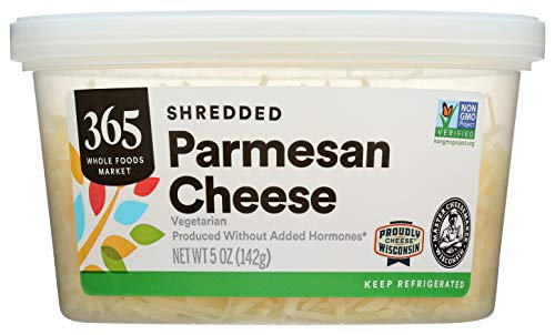 365 by Whole Foods Market, Shredded Cheese, Parmesan, 5 Ounce