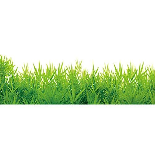 Dosige Wandtattoo Aufkleber Wandaufkleber Grünes Gras Eckschmuck Wandsticker Für Wohnraum Schlafzimmer Gang
