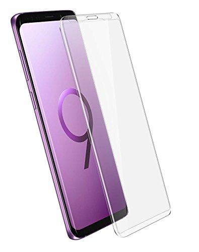 COPHONE® Pack de 2 Verres trempé Samsung Galaxy S9, Film de Protection écran Premium Anti Chocs et Casse, Anti Empreintes, Bords arrondis,dureté Max 9H Tempered Glass 2,5d