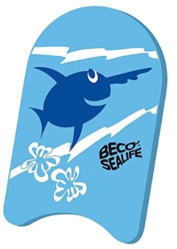 Beco Unisex Jugend Sealife Schwimmbrett, blau, One Size