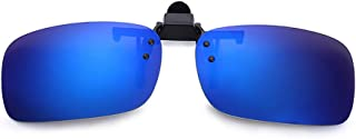 KOUTEI 偏光サングラス UV400 紫外線カット 跳ね上げ式 紫外線をカット 前掛けクリップ式サングラス メタルフレームスポーツサングラス 男女兼用 自転車 釣り 野球 テニス ゴルフ スキー ランニング ドライブ