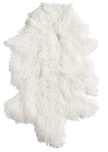 Nordal Lamb fur, Natural White