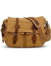 FANDARE Nieuwe Retro Messenger Bag schoudertas 14 inch laptop rugzak heren vrouwen tas koerierstas multifunctioneel canvas