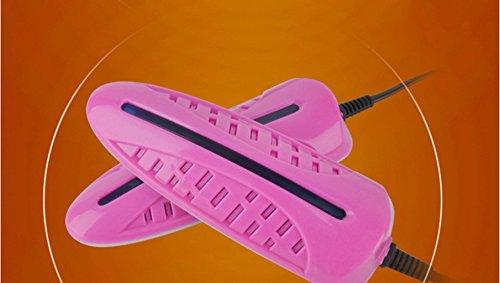Sterilisatoren voor schoenen, droge schoenen, paars sterilisatie deodorant Roze