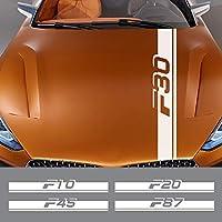 JIERS BMW F10 F20 F30 F31 F11 F34 F01 F12 F18 F32 F33 F35 F45 F46 F82 F85 F02、カーステッカーカーアクセサリーフードボンネットデカール