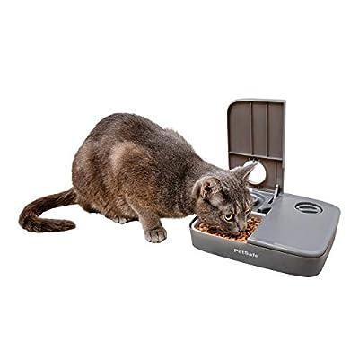 PetSafe Automatic 2 Meal Pet Feeder - Tamper-Resistant Design - Dry Dog and Cat Food Dispenser - Portion Control