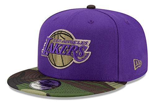 New Era - Gorra NBA Los Angeles Lakers All Star Game Camo 9Fifty Snapback - Morado morado Talla única