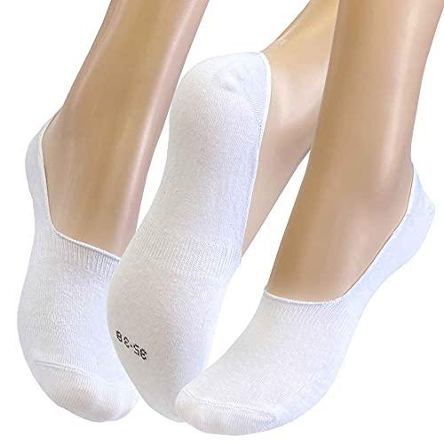 Sockswear Footie Damen und Herren Sneaker Socken Schwarz Weiss Grau 2er Pack
