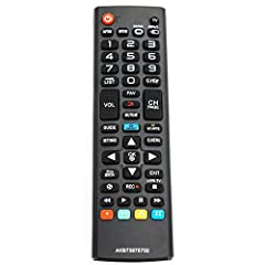 NEW AKB73975702 Remote Control Replaces AKB74475401 AKB73975701 AGF76631042 fit for LG SMART LED HDTV TV. We sold is replacement infrared remote control, only put into new battery will work. The Replacement Remote Control Can Operate Below Knowing Mo...
