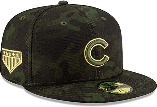 New Era Chicago Cubs 2019 MLB Armed Forces Day on Field 59FIFTY...