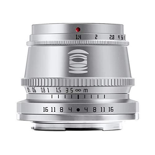 【国内正規品】銘匠光学 TTArtisan 35mm f/1.4 C (富士フイルムX, シルバー) 「2年保証付」