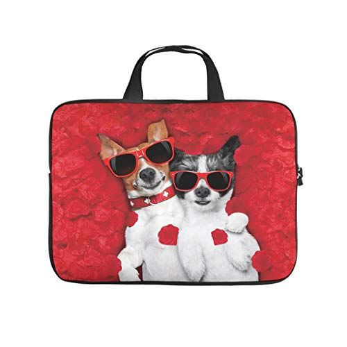 Standard Jack Terrier Laptop Bags Funny Waterproof Pet Dog Laptop Protection Suitable for Indoor Use
