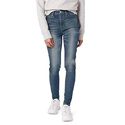 Signature by Levi Strauss & Co. Gold Label Juniors Ultra High Rise Jeggings, Blue Ice, 9