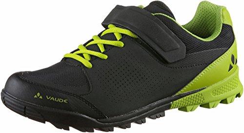 VAUDE Am Downieville Low, Zapatillas de Ciclismo de montaña Unisex Adulto, Negro (Black/Chute 618), 45 EU