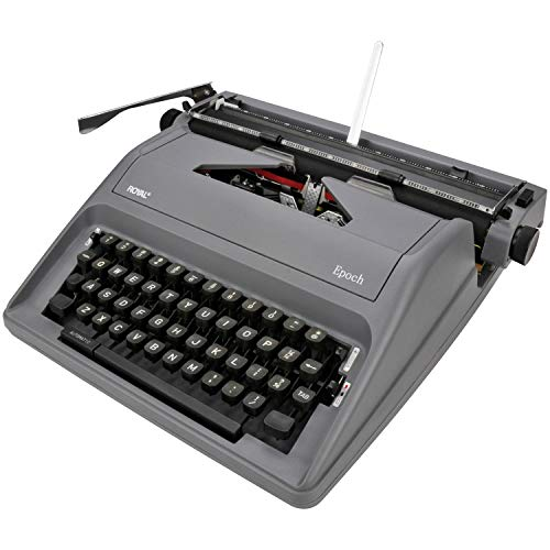 Manual typewriter gray