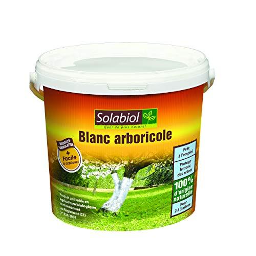SOLABIOL SOBLANC1 Blanc arboricole Seau 1L, Origine Naturelle
