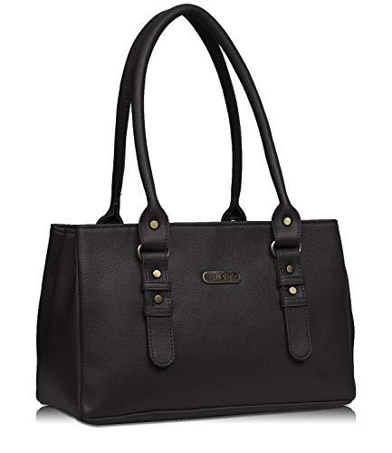Fristo Women's Handbag (FRB-312_Black)