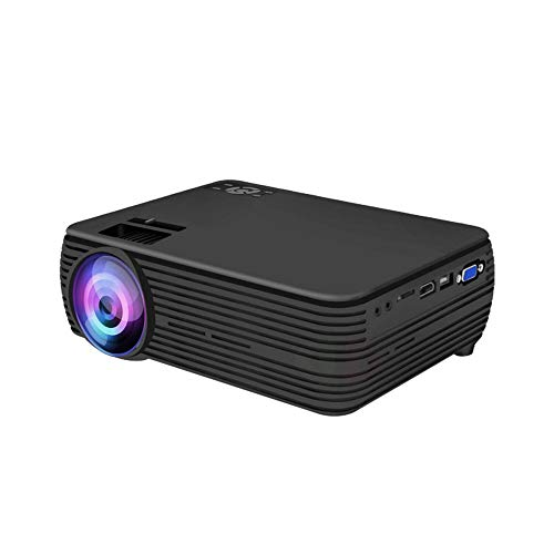 Mini Proyector Portátil Proyector Compatible Con 1080p HD Multimedia Home Cinema Smart Home Theater Proyector LED Proyector De Cine En Casa