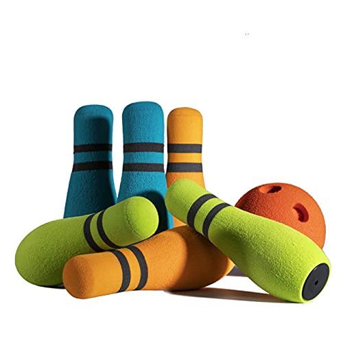RONGXIANMA Bowling Spielzeug Sportspielzeug Indoor Eltern-Kind Interaktive Spiele Jungen und Mädchen Outdoor Kinder Bowling