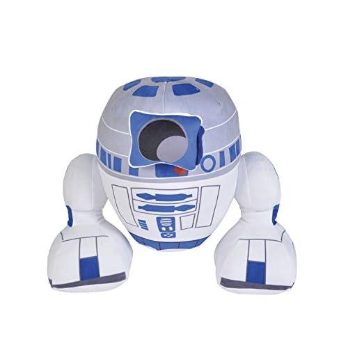 R2-D2 (C1-P8) droide robot peluche Star Wars (45 cm)