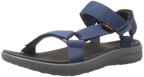 Teva Teva Herren Sanborn Universal Sandale, Navy, 44.5 EU