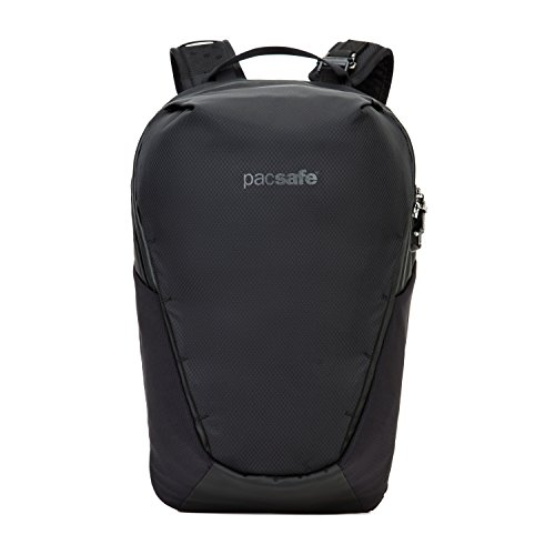 Pacsafe Venturesafe X18 anti-theft backpack Mochila tipo casual, 47 cm, 18 liters, Negro (Black 100)