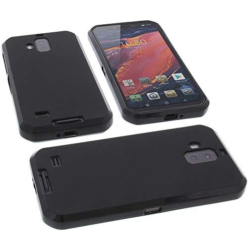 foto-kontor Funda para Blackview BV9600 / BV9600 Pro Protectora de Goma TPU para móvil Negra