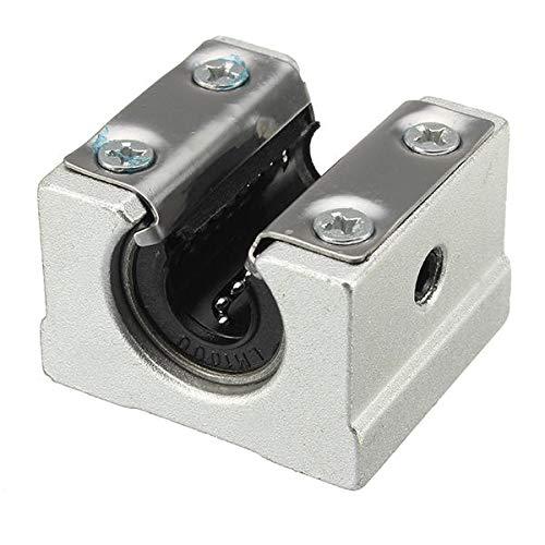 YiXing Máquinas Herramientas y Accesorios Rodamiento Lineal 10mm Bloque Abierto Rodamiento Lineal Slide CNC Router Linear Slide