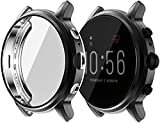 ⌚ [COMPATIBLE FOR Fossil Gen 5 Carlyle] This tpu case is specially designed for Fossil Gen 5 Carlyle Smartwatch.Detachable case provides fully protection.Corners are guarded with Air Cushion Technology that take all the shock from everyday impacts.Hi...
