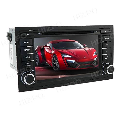 Radio stereo per auto Android 10 Ossuret con touchscreen da 7 pollici adatto per Audi A4 S4 RS4 B6 B7 Seat Exeo + TV digitale opzionale DVR OBD2 DAB + Supporto controllo volante