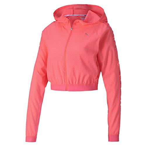PUMA Damen Trainingsjacke Be Bold Woven, Ignite Pink, M, 518925