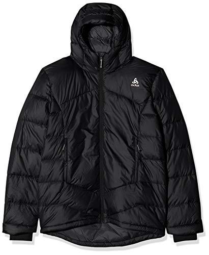 Odlo Herren Jacket Cocoon X Daunenjacken, Black Melange, S