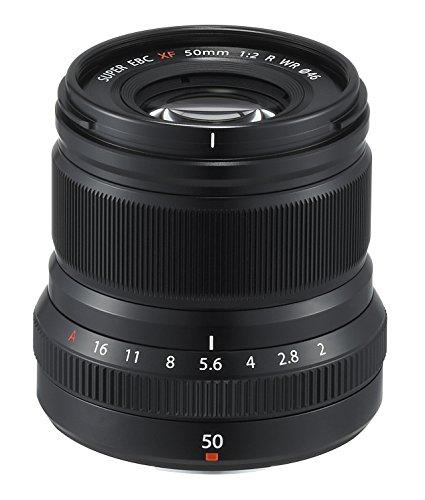 Fujinon XF50mmF2 R WR Lens - Black