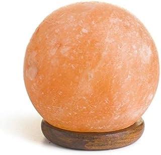 Lámpara de sal del Himalaya Esfera 100% ORIGINAL