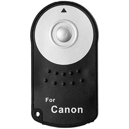 LUMOS IR Fernauslöser für kompatible Canon EOS DSLR 800D 750D 100D 700D 650D 600D 80D 70D 5D M5 ersetzt RC-6 | kabelloser Kamera Auslöser