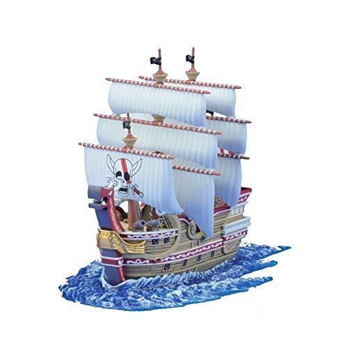 YTO Modelo de muñeca auténtica One Piece, Redforth, el Barco Pirata de la Gran Ruta marítima