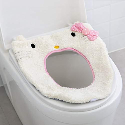 AAPP SHOP toiletkussen huis tweedelig pak goud diamant fluweel toiletzitting set van twee sets van dikke plakkerige gesp toiletzitting toiletzitting kussen