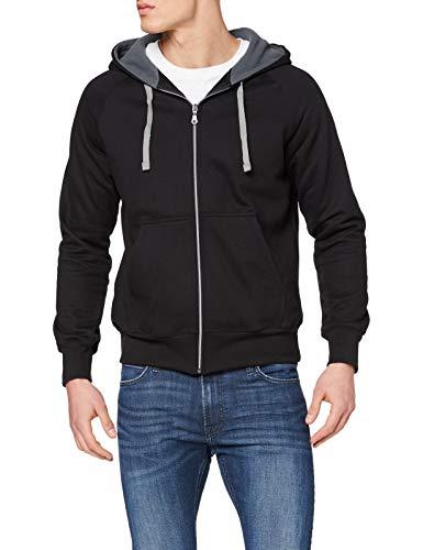 Trigema Herren 675906 Sweatshirt, Schwarz (schwarz 008), Large