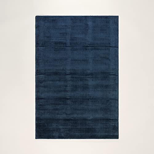MADURA - Tapis de Sol Soft - Bleu pétrole - 60x110 cm