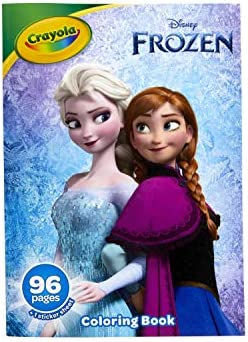 Crayola Frozen 2 Coloring Book with Stickers