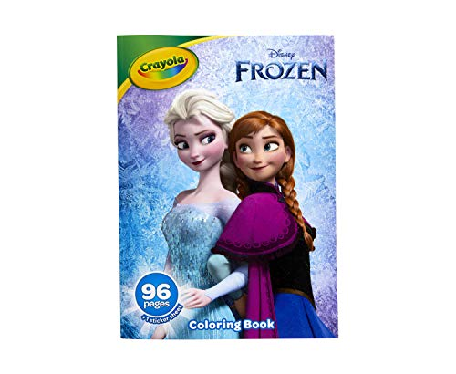 Crayola Frozen 2 Coloring Book with Stickers, Gift for Kids, 96 Pages, Ages 3, 4, 5, 6