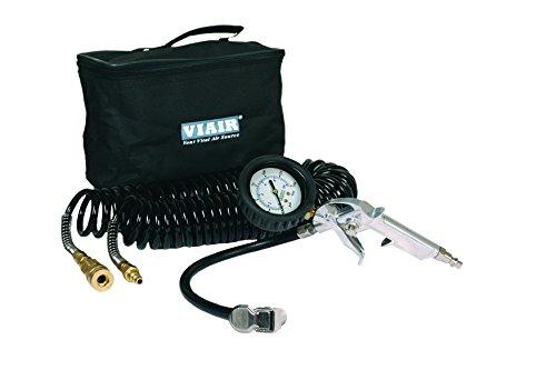 Viair 00043 Inflation Kit with Tire Gun, 150 PSI 2.5' Gauge, 30' Hose and Carry Bag